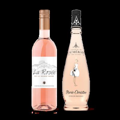 Rosé wijnmix